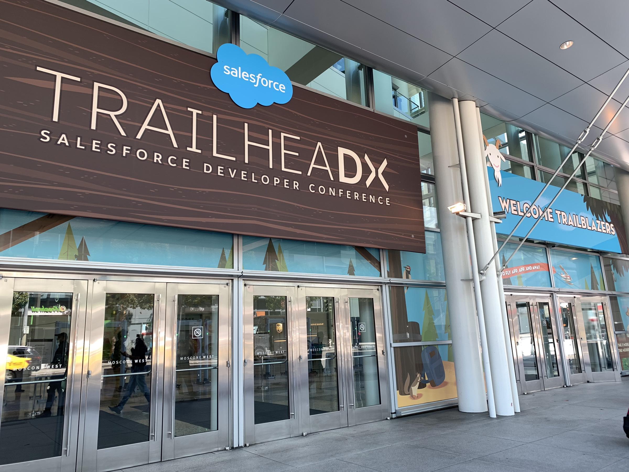 サンフランシスコへ行ってきた! 「Salesforce TrailheaDX '19」 参加レポート①